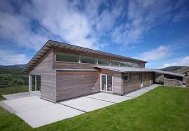 Astonishing  Eco Friendly Residence on the Cliffs of Scotland by        Architecture Large size Scotland Scottish Architect Energy Efficent Homes Architecture Contemporary Architects House Wooden Home