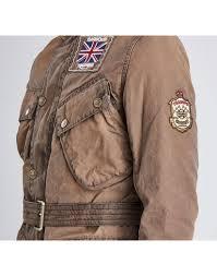 barbour international x triumph men s legend wax jacket hickory mwx0940br71