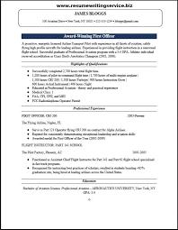 Resume Template Office Impressive First Officer Resume Sample