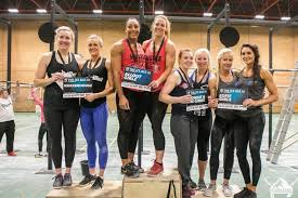 two mitted athletes from crossfit all out gym in newton aycliffe battled their way through five gruelling workouts to claim 1st prize in the gateshead
