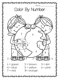Free coloring sheets to print and download. Earth Day Worksheets Preschool Free