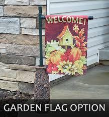 garden flag holders. Large-garden-flag-option Garden Flag Holders