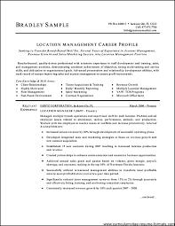 Free Sample Of A Resume