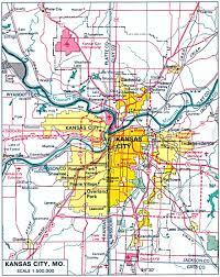 kansas city map missouri and kansas kansas united states  full
