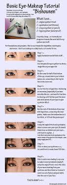 eye makeup tutorial pretty boy by kitsunesqueak on deviantart