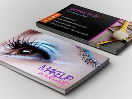 free business card templates makeup artist designs simple vector with cool suggestion