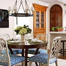 Decorating Details Beautiful Blue And White Accents Traditional Home