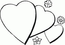 Large Heart Coloring Page Printable Coloring Page For Kids