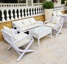 white garden furniture. Remarkable Ideas White Patio Furniture Stylist Design Outdoor Garden A