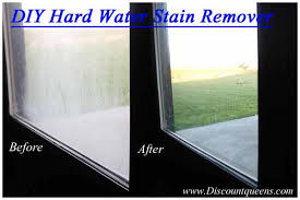 how to remove hard water stains from glass easy diy 2 ing stain remover spray and