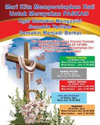 Jadwal misa online 16 dan 17 mei 2020. Ky Foi Uyzsh9m