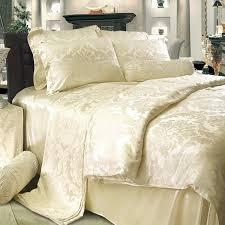 8 piece luxury silk bedding set true vintage