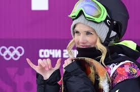 Sexy women of winter sports