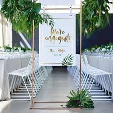 Keep your guests partying into the night with gorgeous string lighting. 17 Engagement Party Decorations To Celebrate The Newly Betrothed Couple In Style