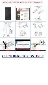 wiring diagram amana refrigerator wiring image amana refrigerator wiring diagram amana 25 1 cu ft side by side on wiring diagram amana