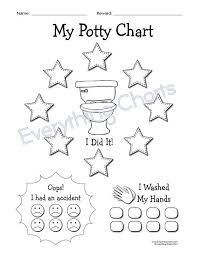 Potty Training Chart Pdf File Printable Printables Potty