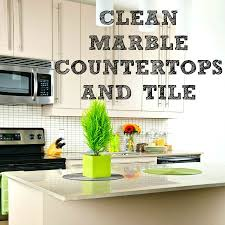 5 tips to clean maintain marble countertops