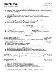 100 Free Downloadable Nurse Educator Resume Examples Er Rn