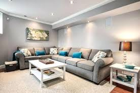 basement wall colors. astounding basement color living room with grey wall and sectional sofa bar schemes . colors