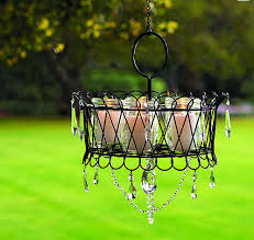 how to make diy outdoor chandelier for romantic outdoor lighting step by step tutorial instructions