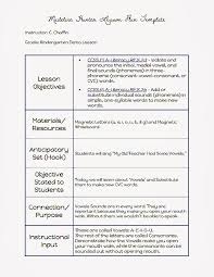 sample lesson plan outline common core blogger madeline hunter lesson plan template