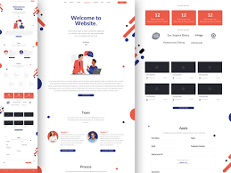 Creative Startup Landing Page Sketch Freebie Download Free