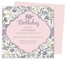 50th Birthday Invitations Templates 50th Birthday Invitations Templates Andone Brianstern Co
