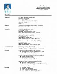 Resume Template Beautiful Example Of Resume For College Students