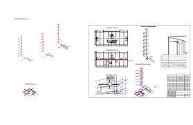 Готовые чертежи Проекты инженерных коммуникаций в формате  Курсовая работа Санитарно техническое оборудование зданий Наружные сети