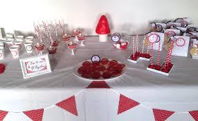 Idée décoration goûter anniversaire enfant Le Petit Chaperon Rouge