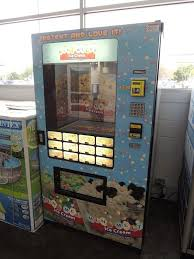 Ice Cream Vending Machine Rental Beauteous Japanese Reporter Visits Ice Cream Vending Machine At Walmart