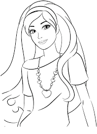 Barbies Coloring Pages Barbie Coloring Sheets 5 Barbie Doll Coloring