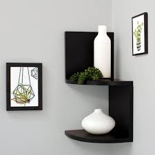 Floating Corner Shelves Walmart Decorating Corner Wall Shelf Walmart In Sunshiny Diy Shelves 2
