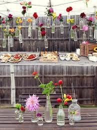 Backyard party decorations on a budget