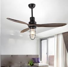 2019 loft iron wood glass ceiling fan e27 lamp 220v wooden ceiling fans with lights 52 inch blades cooling fan remote lamp from lightlight 417 8 dhgate