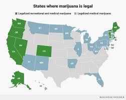 where is marijuana legal now