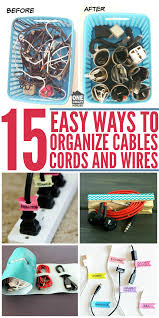 15 easy ways to organize cables and wires