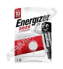 <b>Батарейка Energizer Lithium CR</b> 2025 (1 шт.) /блок 10 ...