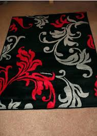 pretty red and gray bathroom rugs red and gray bathroom rugs red grey black fl rug