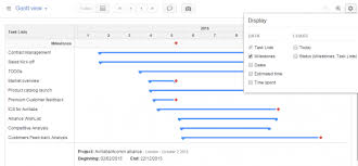 Project Milestones Chart Project Management And Gantt Chart How To Use The Gantt View