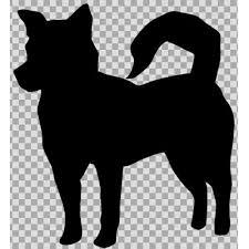 シルエットイラスト 犬 ニコニコモンズ
