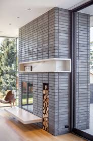 Gray Brick Fireplace Best 25 Fireplace Surrounds Ideas On Pinterest Fireplace Mantle