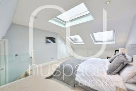 L Shaped Bedroom L Shaped Loft Conversion In Semi Detached Property In Wimbledon