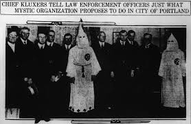 the ku klux klan in oregon zaron medium