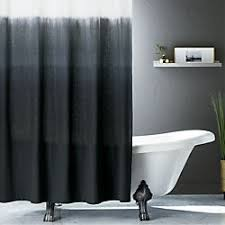 modern bathroom shower curtains.  Shower Ombre Black Shower Curtain And Modern Bathroom Shower Curtains R