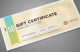 Gift Certificates For Your Business Gift Certificates Design And Print Pro4print Com
