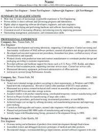 Rf Test Engineer Sample Resume Delectable Test Engineer Sample Resume Nmdnconference Example Resume