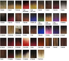 Ombre Weave Color Chart Harlem 125 Color Chart