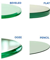 table tops edges types