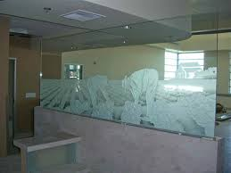 Frosted Glass Designs Etched Glass Partitions Sans Soucie Art Glass